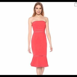 """Likely """"Abbott"""" cocktail dress with cutout trim."""